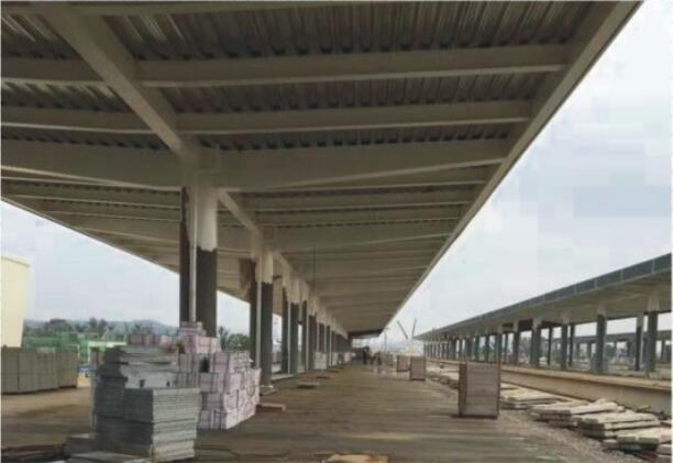 光清城际轨道交通车站(在施工)