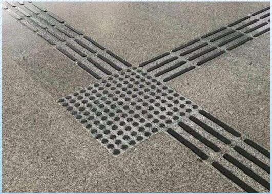 广场盲道石